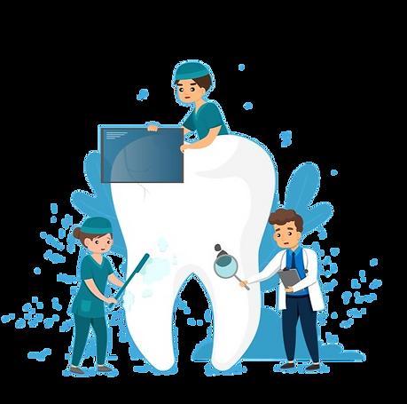 dental clining