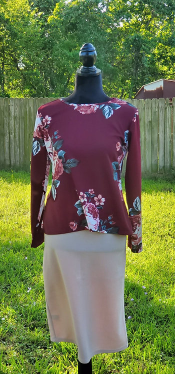 Areli long sleeve top
