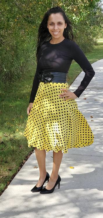Priscilla Polka Dots Skirts