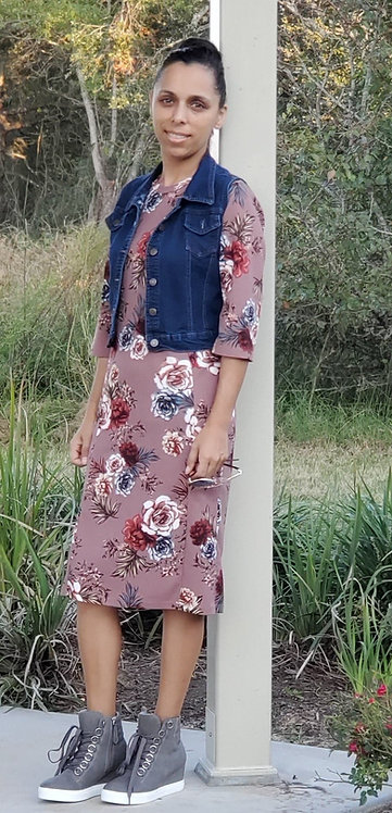 Floral Sport/Swim Dresses