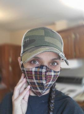 Face masks Mixed prints
