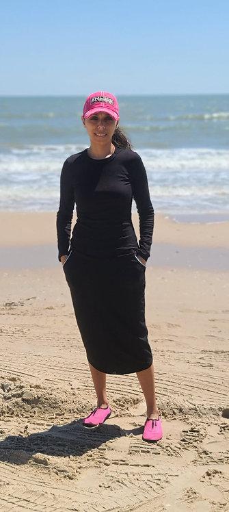 Amanda Black Sport/Swim Skirt