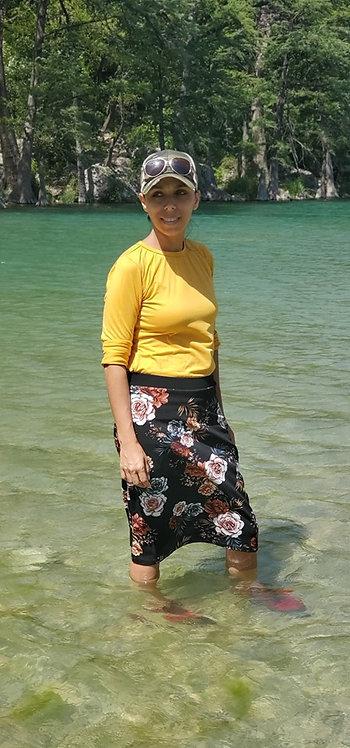 Grace Florals Sport/Swim Skirts