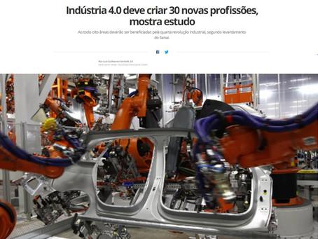 Indústria 4.0 deve criar 30 novas profissões