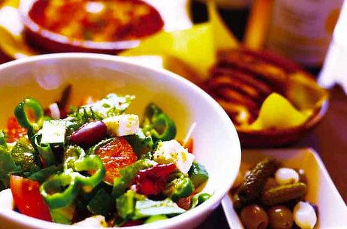 グリークサラダ - フェタチーズとカラマタオリーブのギリシャ風サラダ -