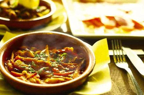ピスト -スペイン風、野菜のトマト煮込み-