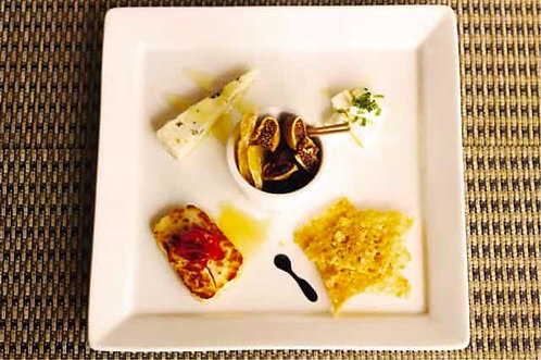 チーズとオーガニックドライフルーツ