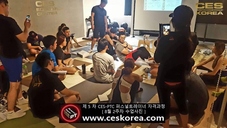 제 5 차 ces korea 퍼스널트레이너 과정 2주차 수업 (3)