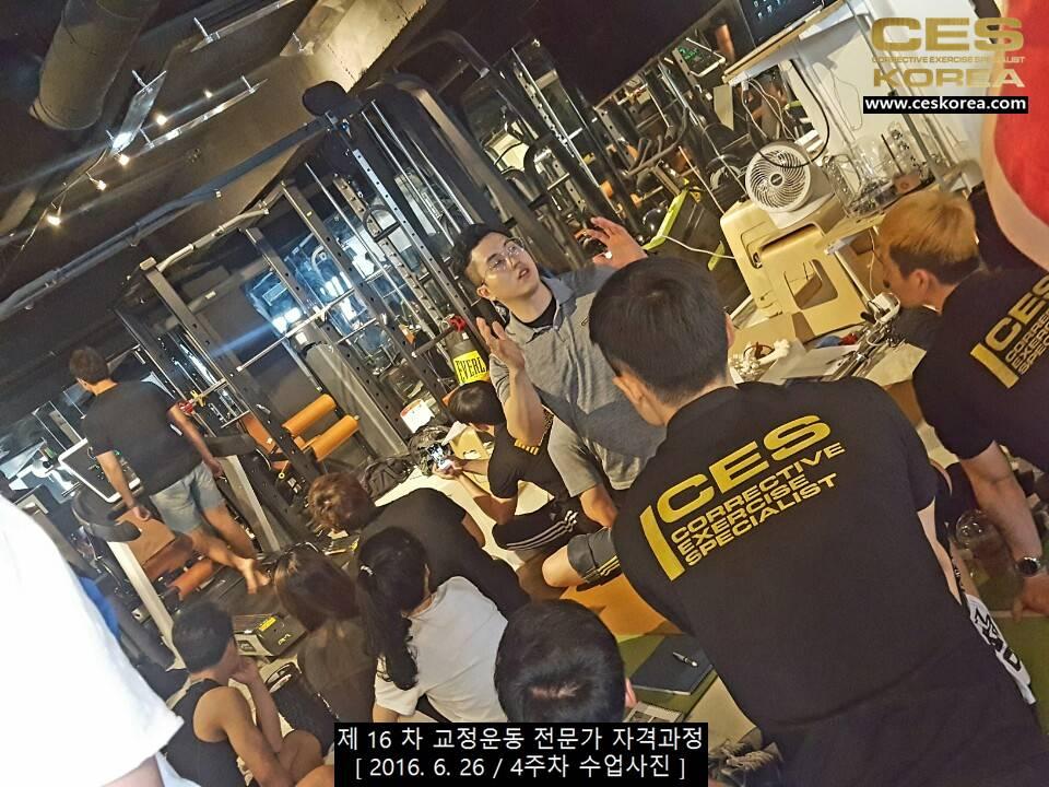 CES KOREA 제16차 교정운동전문가 자겨과정 4주차 (4)