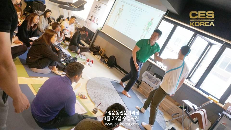 25차 CES KOREA 교정운동전문가과정 6주차수업 (1)