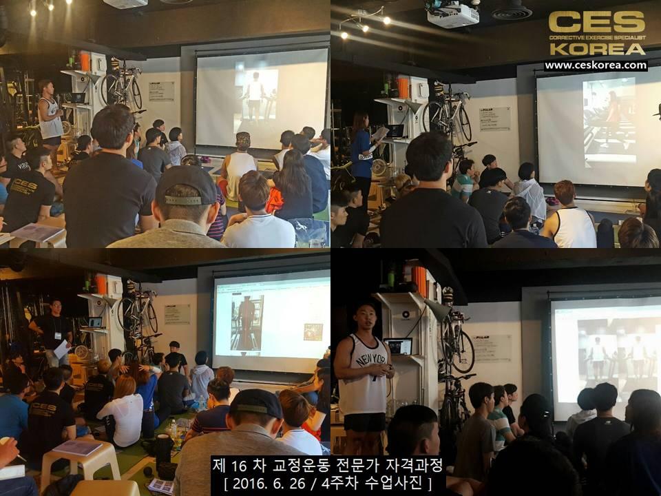 CES KOREA 제16차 교정운동전문가 자겨과정 4주차 (2)