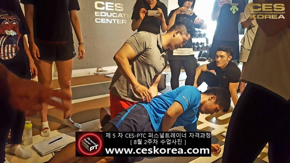 제 5 차 ces korea 퍼스널트레이너 과정 2주차 수업 (4)