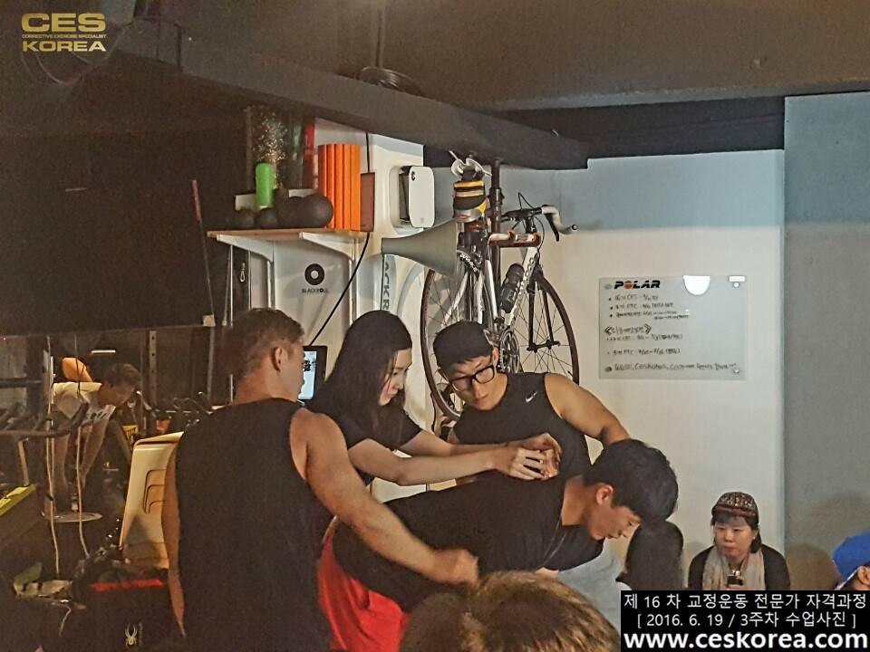 CES KOREA 16차 교정운동 전문가 자격과정 3주차  (13)