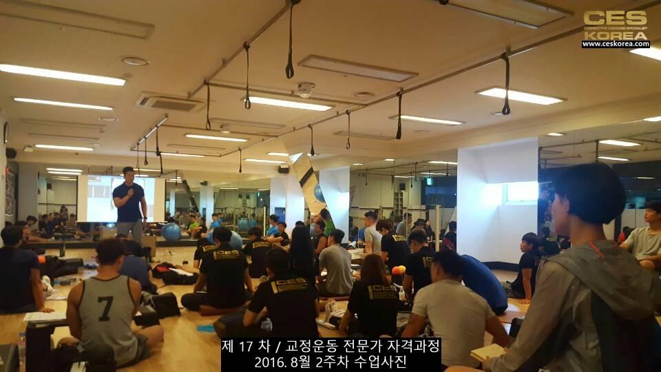 17차 ces korea 교정운동 전문가 과정 2주차 (15)