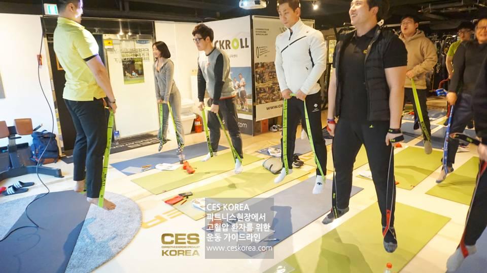 CES KOREA 고혈압 운동프로그램 (1)