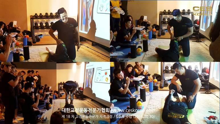 18차 CES KOREA 교정운동전문가 과정 5주차 (2)