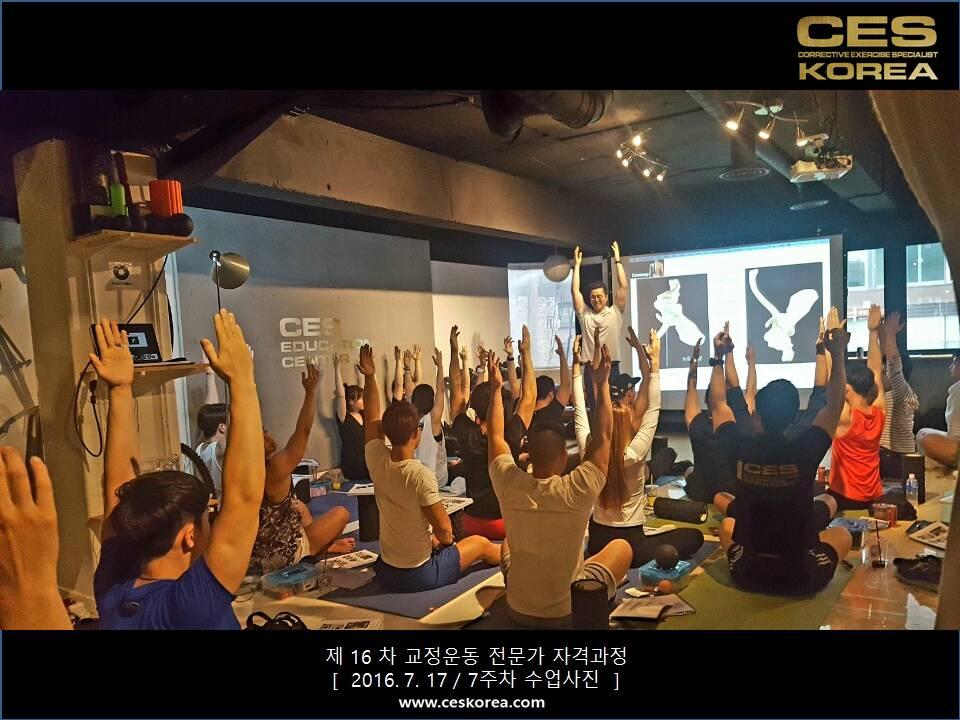 16차 CES KOREA 교정운동전문가 자격과정 7주차 (4)