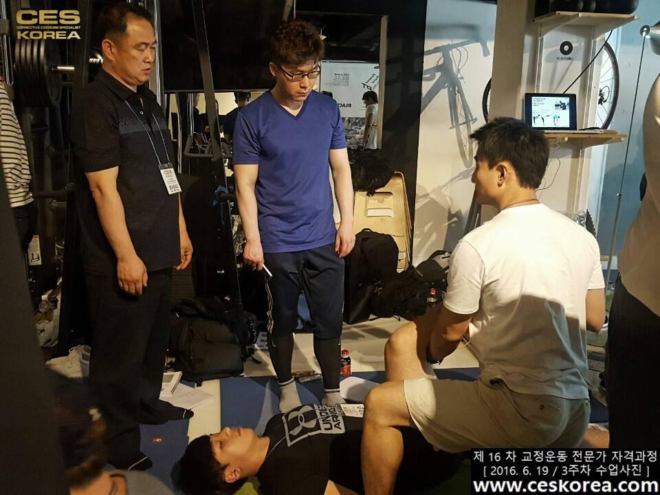 CES KOREA 16차 교정운동 전문가 자격과정 3주차  (11)