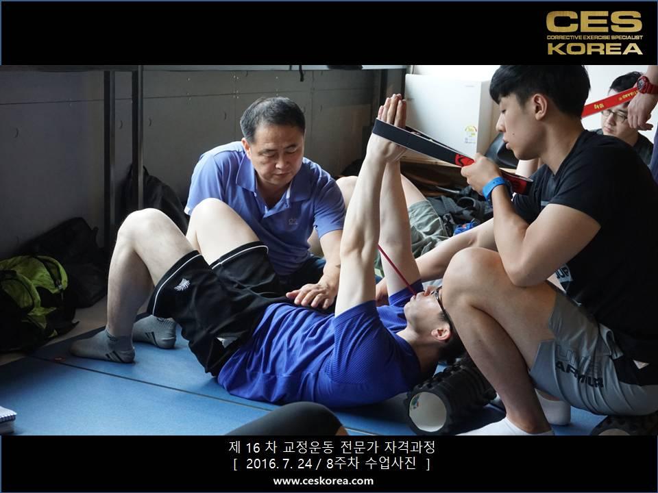 CES KOREA 16차 교정운동 전문가 과정 (4)