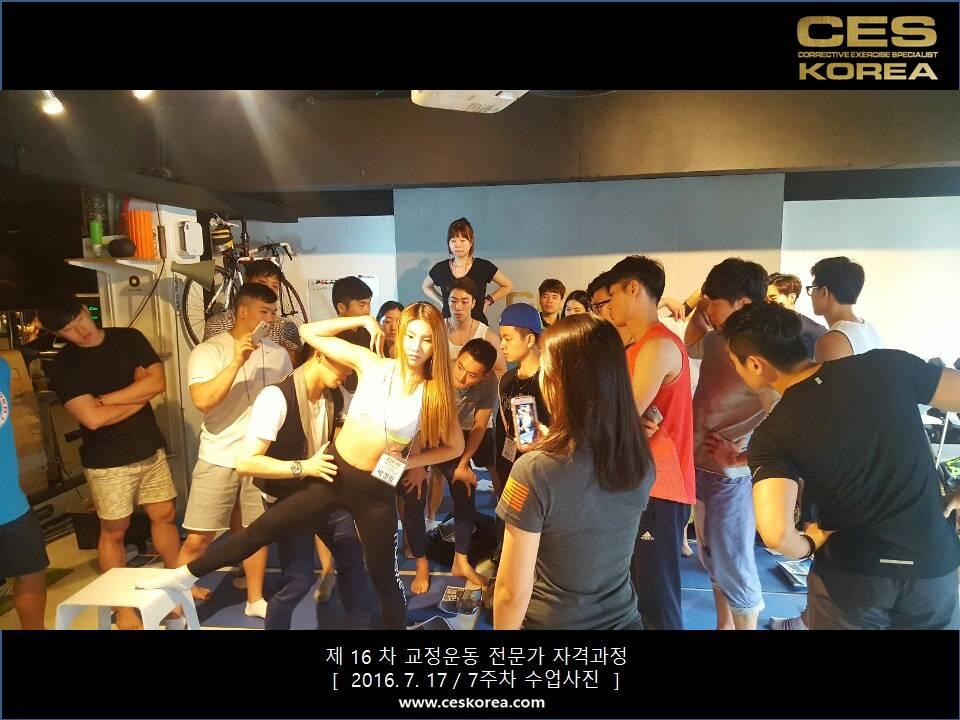 16차 CES KOREA 교정운동전문가 자격과정 7주차 (3)