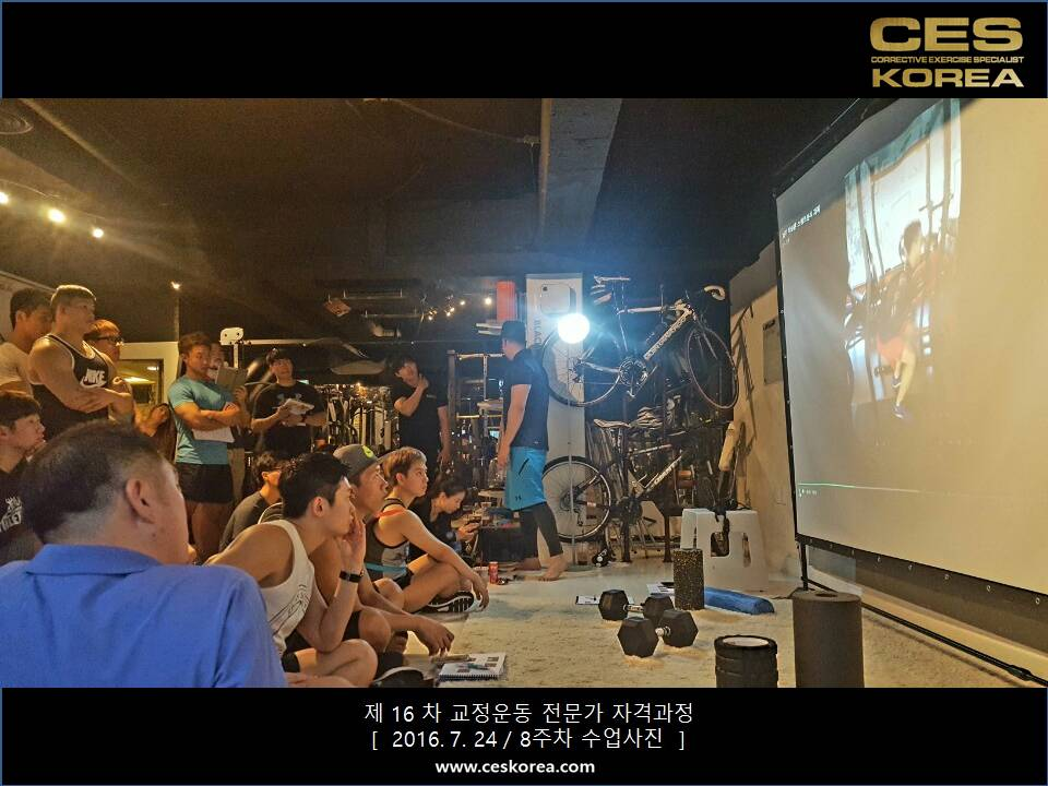 CES KOREA 16차 교정운동 전문가 과정 (2)