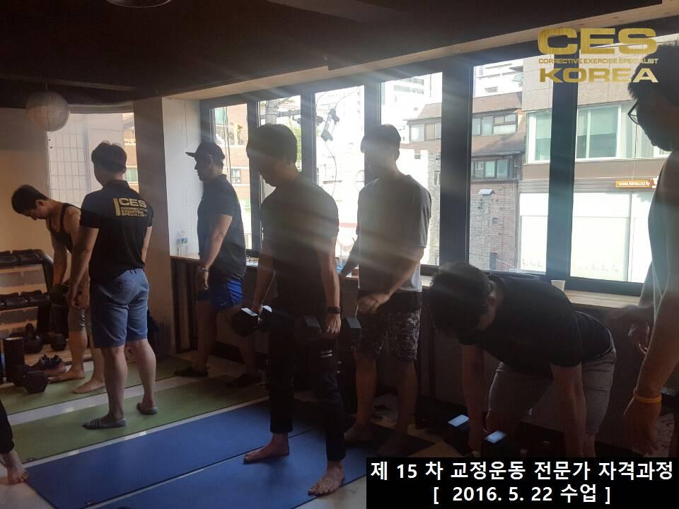 2016 5 22 CES KOREA 교정운동 전문가 자격과정 15차 (16)