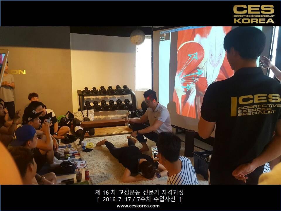 16차 CES KOREA 교정운동전문가 자격과정 7주차 (19)