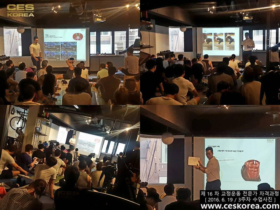 CES KOREA 16차 교정운동 전문가 자격과정 3주차  (20)
