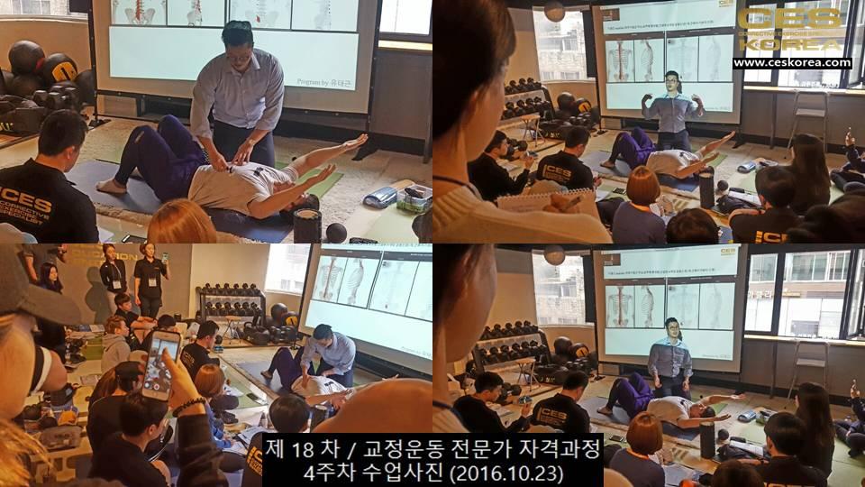 18차 CES KOREA 교정운동 4주차 (2)