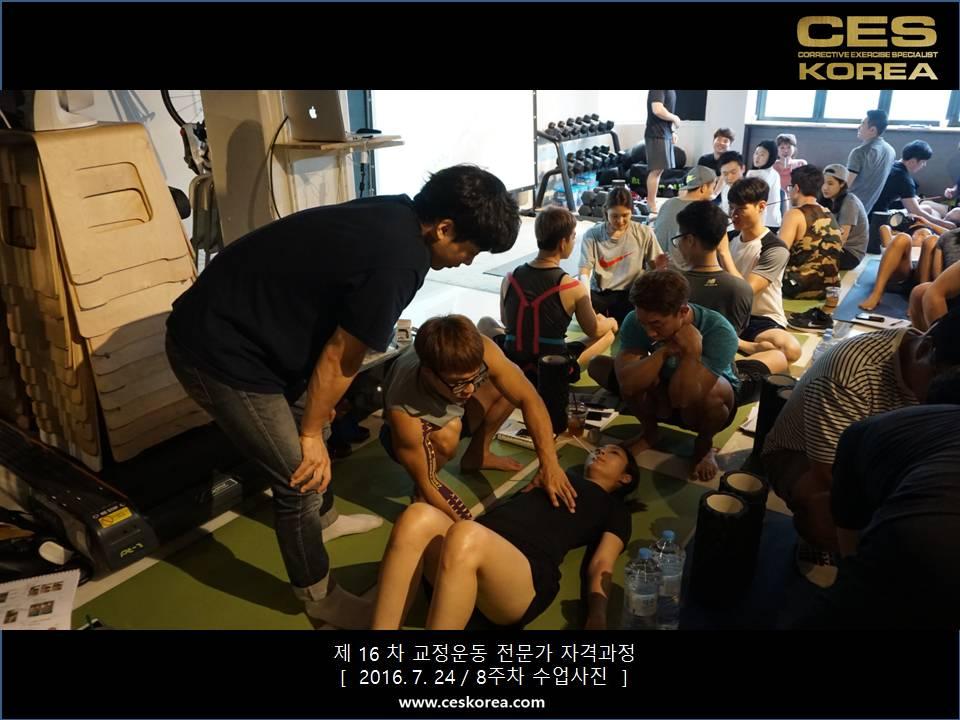 CES KOREA 16차 교정운동 전문가 과정 (5)