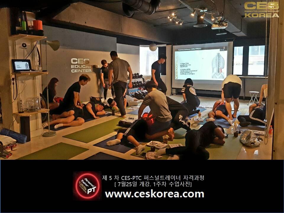 CES KOREA 퍼스널트레이너자격과정 ces ptc 5기 1주차 (4)
