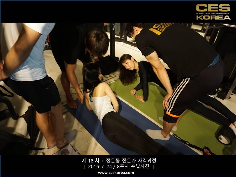 CES KOREA 16차 교정운동 전문가 과정 (9)