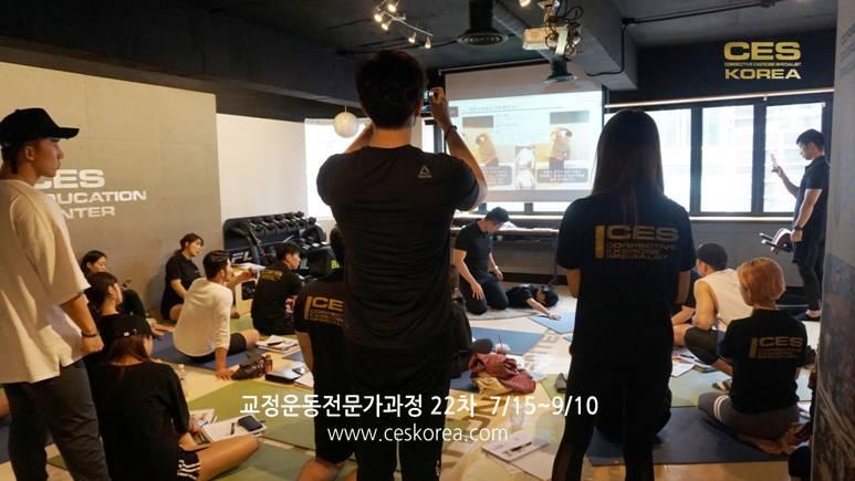 CES KOREA 교정운동전문가 과정 22차 (1)