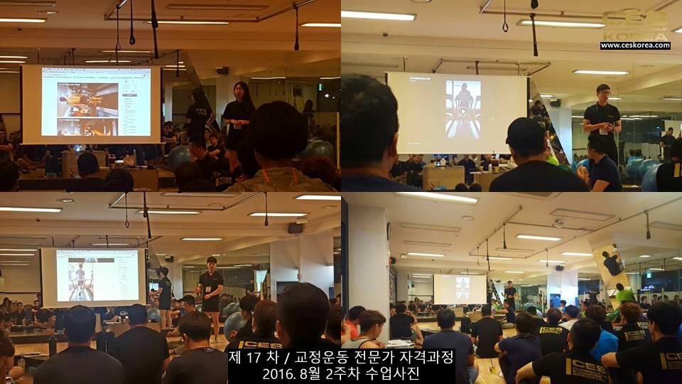 17차 ces korea 교정운동 전문가 과정 2주차 (14)