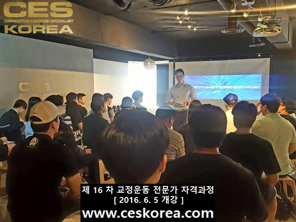 CES KOREA 16차 교정운동전문가 자격과정 1주차 (2)
