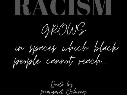 #RED for Racism; Reflect, Explore, Disrupt...