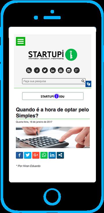 Startupi - Artigos e entrevistas
