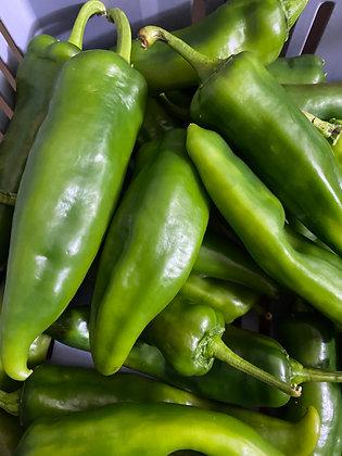 Fresh Green Anaheim Chillis