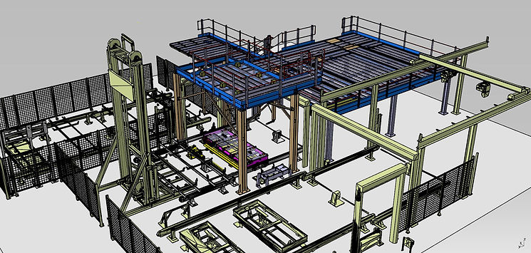 Steelwork with Cell Integration