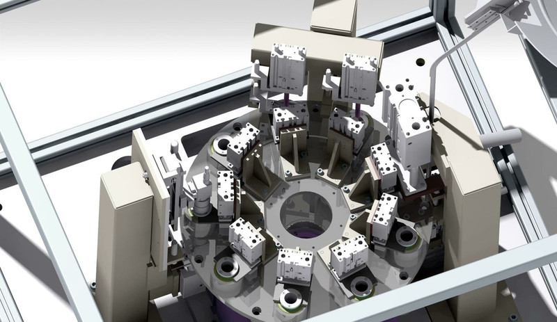 Automatic Bearing Inspection Fixture