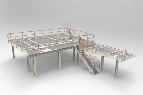 Floor Mounted Platform