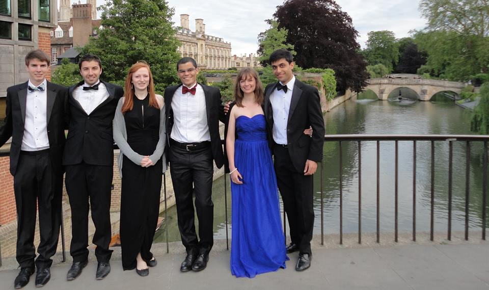 On the way to a May Ball