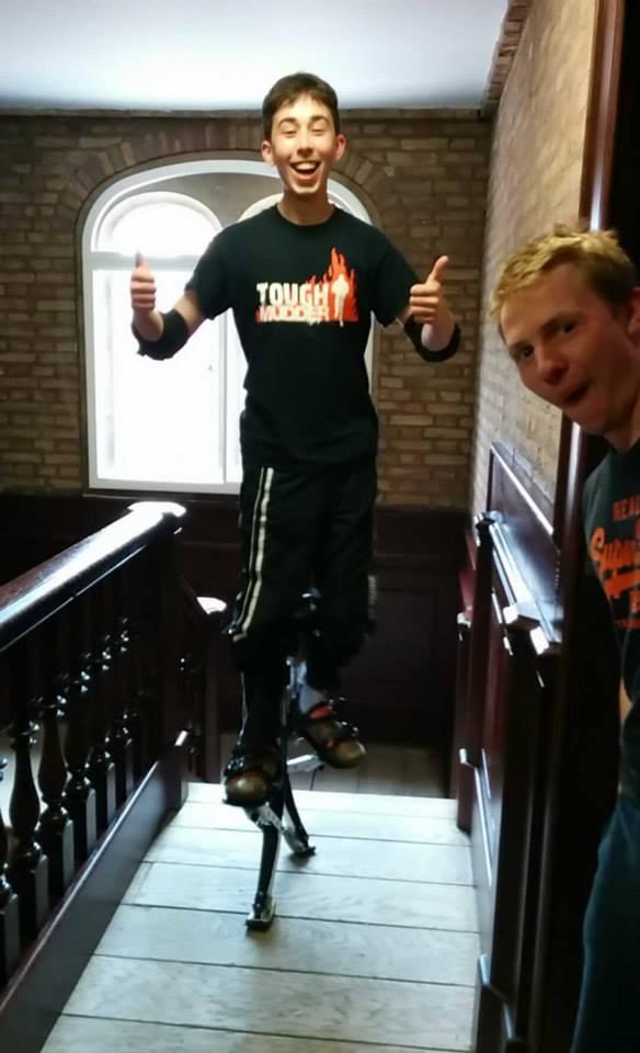 Zack on Stilts