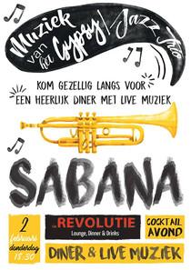 Sabana gaat naar Zutphen!