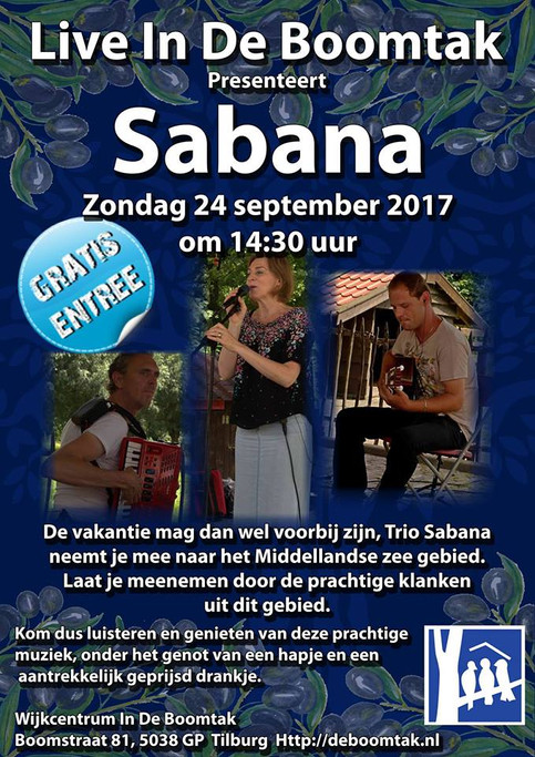Live In De Boomtak te Tilburg