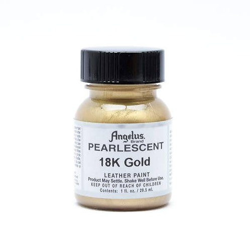Pearlescent Gold Paint 29.5ml