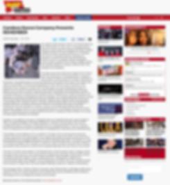 broadwayworld press artile on sldiers arts academy