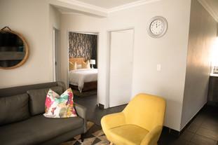 Door view of Suite