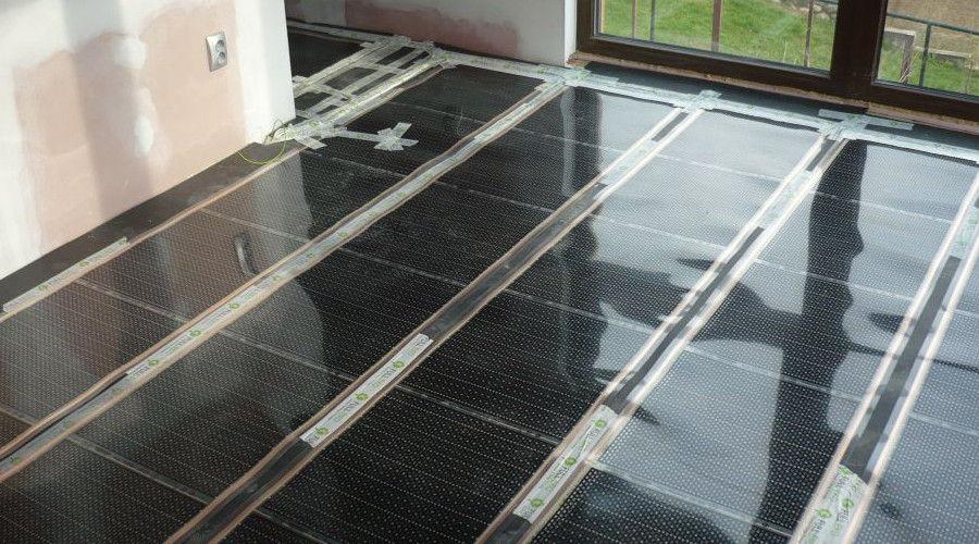 Infrafólia padlófűtés