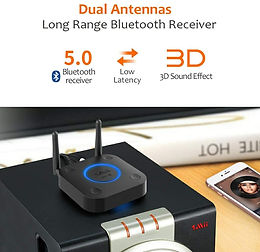 1Mii B03 Lite Wireless Long Range Bluetooth Audio Transmitter Adapter B0302